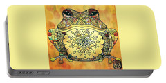 Zentangle Frog Portable Battery Charger
