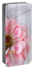 Sheer Zinnia Portable Battery Charger