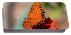 Zinnia With Butterfly 2669 Portable Battery Charger