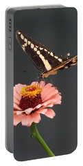 Zinnia With Butterfly 2702 Portable Battery Charger