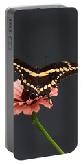 Zinnia With Butterfly 2708  Portable Battery Charger