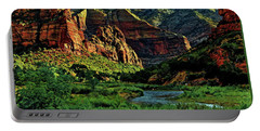 Zion Canyon River Portable Battery Charger