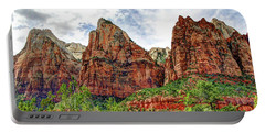 Zion N P # 41 - Court Of The Patriarchs Portable Battery Charger