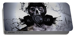 Zombie Warrior Portable Battery Charger