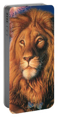 Zoofari Poster The Lion Portable Battery Charger