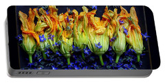 Zucchini Flowers Portable Battery Charger