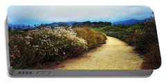 Portable Battery Charger featuring the photograph Zuma Beach Pathway by Glenn McCarthy Art and Photography