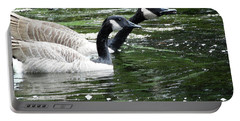 031619 Geese City Park New Orleans Portable Battery Charger