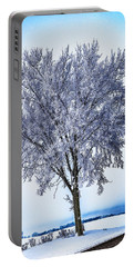 039 - Frosty Tree Portable Battery Charger