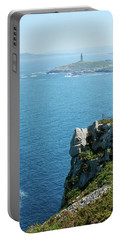 Coruna Landscape And Hercules Tower - Spain Portable Battery Charger