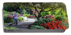 A Walk In The Garden Portable Battery Charger