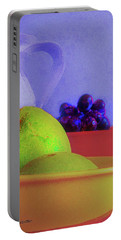 Abstract Fruit Art   102 Portable Battery Charger