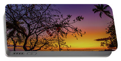 After Sunset Colors Portable Battery Charger