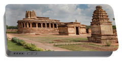 Aihole,durga Temple Portable Battery Charger