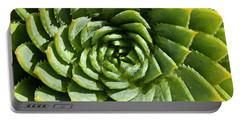 Aloe_polyphylla_8536.psd Portable Battery Charger