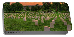 Arlington National Cemetery Sunrise Portable Battery Charger