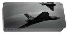 Avro Vulcan Xh558 And Eurofighter Typhoon Gina. Portable Battery Charger
