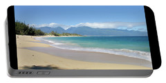 Portable Battery Charger featuring the photograph Baldwin Beach Maui by Frank DiMarco