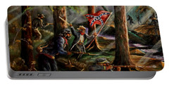 Battle Of Chancellorsville - The Wilderness Portable Battery Charger