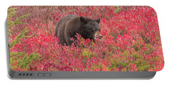 Berries For The Bear Portable Battery Charger