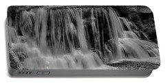 Portable Battery Charger featuring the photograph Blackwater Falls Mono 1309 by Donald Brown