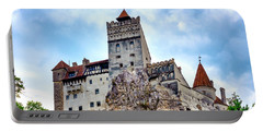 Portable Battery Charger featuring the photograph Bran Castle by Fabrizio Troiani