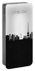 Brussels Cityscape Art Portable Battery Charger