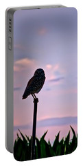 Burrowing Owl On A Stick Portable Battery Charger