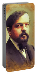 Claude Debussy, Music Legend Portable Battery Charger