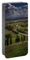 Portable Battery Charger featuring the photograph Clouds Over Tuscany by Tim Bryan
