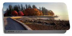 Colorful Autumn Foliage At Stanley Park Portable Battery Charger