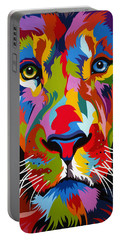 Colorful Lion Portable Battery Charger