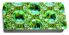 Cut Glass Beads 2 Portable Battery Charger