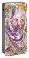Cut Portrait Portable Battery Charger