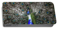 Dancing Peacock Portable Battery Charger