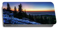 Dawn At Bear Rocks Preserve Portable Battery Charger