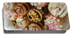 Donuts Of Different Flavors, To Put On An Unhealthy Diet Portable Battery Charger