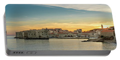 Dubrovnik Old Town At Sunset Portable Battery Charger