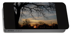 Evening Fades Away Portable Battery Charger