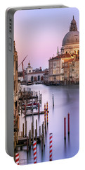 Evening Light In Venice Portable Battery Charger