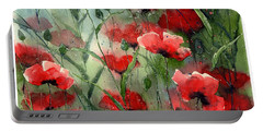 Everything About Poppies Portable Battery Charger