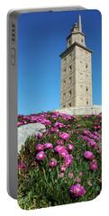 Hercules Tower - Coruna, Spain Portable Battery Charger