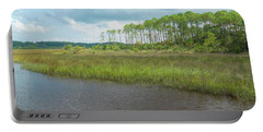 Portable Battery Charger featuring the photograph Florida Marshland by John M Bailey