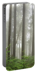 Foggy Forest Portable Battery Charger