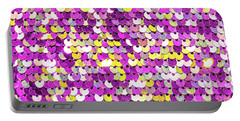 Funky Sequins Portable Battery Charger