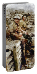Ghosts Of World War One Portable Battery Charger