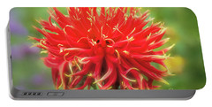 Glorious Sho-n-tell Dahlia Portable Battery Charger