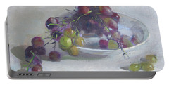 Greek Grapes Portable Battery Charger