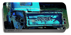 Green Dodge Portable Battery Charger