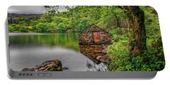 Gwynant Lake Boat House Portable Battery Charger